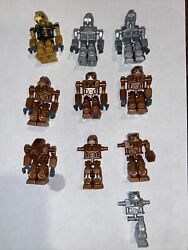 Lego Exo Force 2006 7 Iron Drones and Devastator Lot of 7 Robots 3 incomplete $24.99
