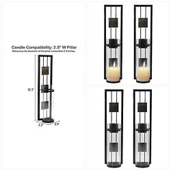 Shelving Solution Wall Sconce Candle Holder Metal Wall Decorations for Living Ro $41.47
