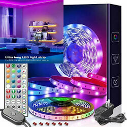 Nexillumi 20 ft LED Lights for Bedroom with Remote Color 20FT RmoteMic $26.80