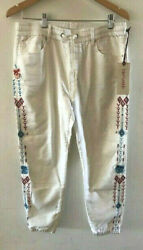 SUNDANCE CATALOG by DRIFTWOOD Rivier Emb Joggers EXTRA EXTRA LARGE Orig $108 $49.99