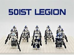 Star Wars 501st Legion Captain Rex 13pcs Lot Custom Set USA SELLER $24.99