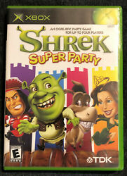 Shrek: Super Party For Xbox Original Very Good Game Manual amp; Case $22.00