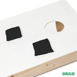 All Weather Cornhole Bean Bags Set of 8 Orange amp; Black