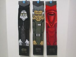Stance Star Wars Socks 3 Pair Men#x27;s Size Large NWT $59.99