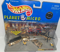 New Planet Micro Gold Special Collector Edition Hot Wheels Urban Rescue Series 1 $19.99