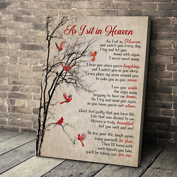 Crested Birds As I Sit In Heaven Decorative Wall Art Poster No Frame Poster Art $13.99