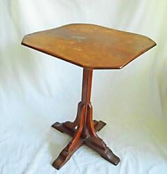 Vermont Vintage Wood Antique Table Candlestand Hale Arlington Country Furniture $325.00