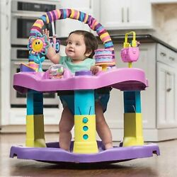 Evenflo Exersaucer Bounce and Learn Sweet Tea Party Kids Girls Baby Play Fun New $76.36