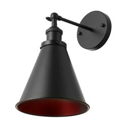 Antique Adjustable Wall Light Industrial Cone Shade Sconce Lighting Wall Lamp $29.99