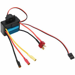 35A Small Brushless Electronic Speed Controller ESC For 1 18 1 16 RC Car Blue $16.71