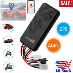 Car GPS Tracker GSM SIM GPRS Real Time Tracking Device Locator for Truck Vehicle $23.39