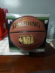 Spalding Basketball Elevation 28.5quot; NBA Official Mid Size Indoor Outdoor Ages 9 $27.99