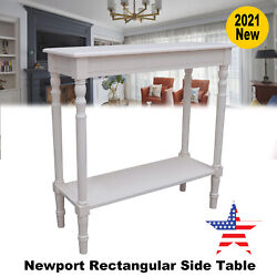 Entry Sofa Console Table Living Room Newport Rectangular Side Table $71.24