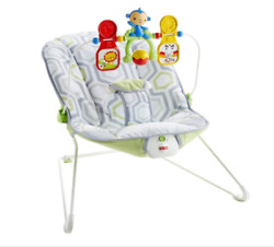 Fisher Price Baby#x27;s Bouncer Geo Meadow Hot $39.05