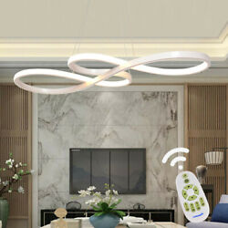 Acrylic Modern LED Ceiling Light Lamp Pendant Dining Room Fixture Dimmable USA $68.39