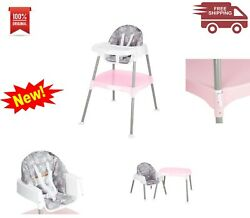 E.ven.flo 4 in 1 Eat amp; Grow Convertible High Chair Poppy Floral Freeshipping $59.99