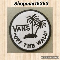 🇨🇦 Vans Off The Wall White Skateboard Patch Sew On stick On new 🇨🇦 # 206 C $4.95