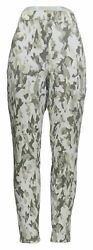 Legacy Leggings Sz L Soho Stretch Regular Twill Olive Green Ivory A377864 $11.99