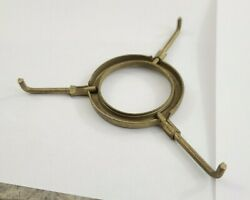 4quot; Lamp Shade Spider Brass Plated screw on to light socket $9.00