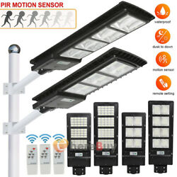150 250W Solar Street Light Commercial Outdoor IP67 Security Road Lamp Dusk Dawn