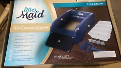 NEW LitterMaid Version 3 Automatic MULTI CAT Litter Box Self Cleaning Scoop w … $115.00