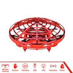 Mini UFO Hand Operated RC Quadrocopter Infrared Induction Aircraft Xmas Toy X4A1 $15.02