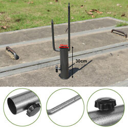 Patio Umbrella Base Stand Metal Heavy Duty Holder Yard Outdoor Beach For 28 35mm $11.88