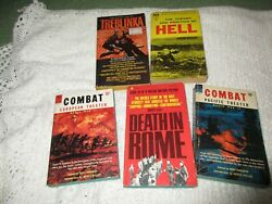 Five Vintage Paperbacks on WWII amp; Holocaust $7.50