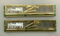 OCZ Gold Series 4GB DDR3 1333 OCZ3G1333LV8GK PC3 10600 RAM LOT OF 2 $21.75