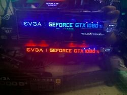 EVGA GeForce GTX 1080 Ti FTW3 GAMING 11GB Graphics Card . Good conditions $850.00