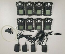 8 MSA Altair 4 Multigas Detectors w 4 Chargers $350.00