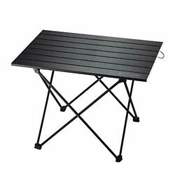 Camping Table Compact Collapsible Folding Portable Aluminum Beach Table Medium $47.21