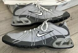 Nike Max Air Torch SZ 10.5 Men#x27;s 316125 Gray Silver Shoe Basketball Athletic Run