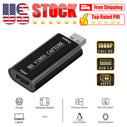HDMI Video Capture Audio Video Capture Cards HDMI to USB Full HD 1080 USB 2.0 $6.88