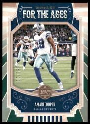 2019 Panini Legacy For the Ages Green #19 Amari Cooper 100 $3.00