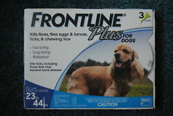 Frontline Plus for Dogs Flea and Tick Medicine 23 44 lbs. 3 Month Supply Medium $15.99