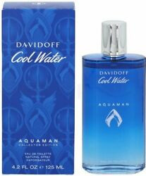 Cool Water Aquaman by Davidoff cologne for men EDT 4.2 oz New in Box $24.84