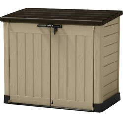 Outdoor Resin Horizontal Storage Shed $260.00