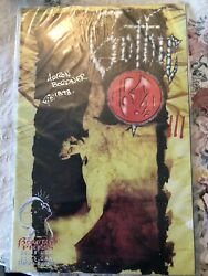 Aaron Bordner Gothic Red Signed Comic Book 1997