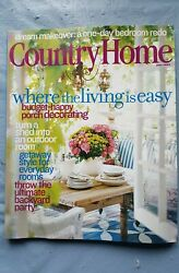 COUNTRY HOME June 2004 Where the Living is Easy Dream Makeover MINT $5.99