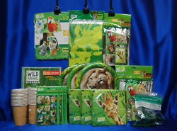 Animal Planet Party #14 Plates Tablecovers Centerpiece Napkins Stickers Balloons $39.99