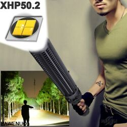 1000000 lumens XHP50.2 super powerful tactical flashlight led Rechargeable torch $38.24