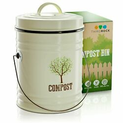 Compost Bin for Kitchen Counter Compost Pail with Inner Bucket 1 Gallon $95.56