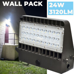 24W Led Wall Pack Light Waterprooof Commercial Outdoor Area Security Lights