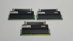 OCZ Tech Flex EX 6GB 3 x 2GB DDR3L 1600 PC3L 12800U 2Rx8 1.65V Desktop RAM $39.99