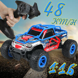 1 16 48 KM H Remote Control Car RC Electric Monster Truck OffRoad Vehicl $33.39