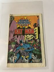 Vintage Kenner Super Powers Collection BATMAN #2 Mini Comic $5.00