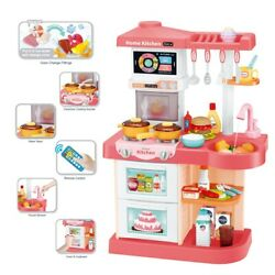 Modern Home Kids Kitchen Playsets With Smart Touch Screen And Remote Control $51.88