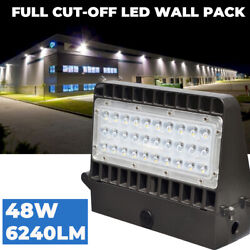 Commercial Led Wall Pack Lighting 48W Waterproof Outdoor Area Security Light