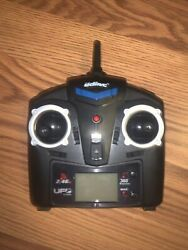 UDI RC Replacement Remote Radio Control 2.4GHz Black Tested Works $10.00
